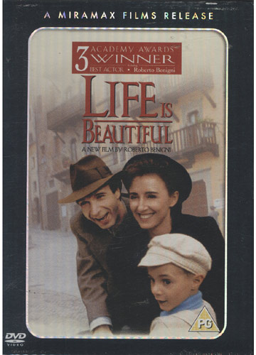 Life is Beautiful *importado* *região 2*