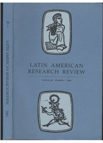 Latin American Research Review - Volume 36 - Número 1 - 2001
