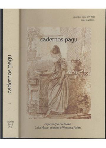 Cadernos Pagu - Jul / Dez - 2012 - N°.39
