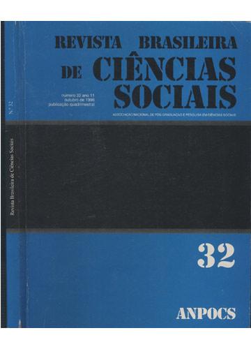 Revista Brasileira de Ciências Sociais - Número 32 - Ano 11 - Outubro de 1996