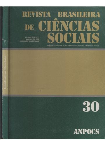 Revista Brasileira de Ciências Sociais - Número 30 - Ano 11 - Feveiro de 1996