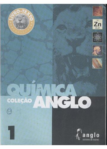 Livro-Texto - Química - Livro 1 - Coleção Anglo