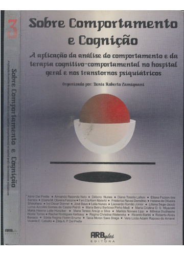 Sobre Comportamento e Cognição - Volume 3