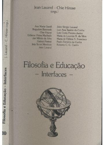 Filosofia e Educação - Interfaces