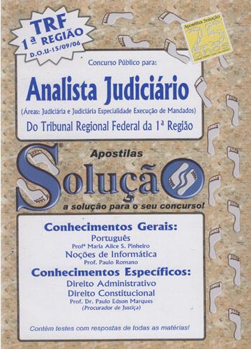 Concurso Público para Analista Judiciário