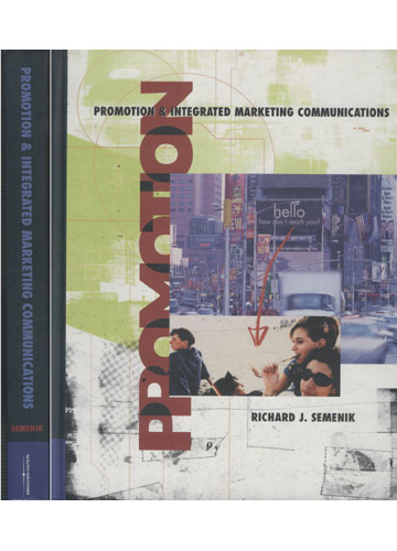 Promotion & Integrated Marketing Communications
