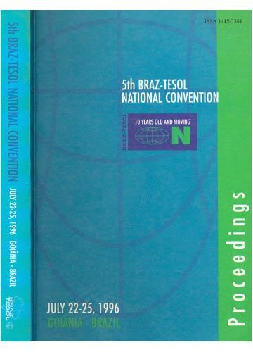 5th Braz-Tesol National Convetion