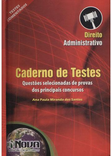 Caderno de Testes - Direito Administrativo