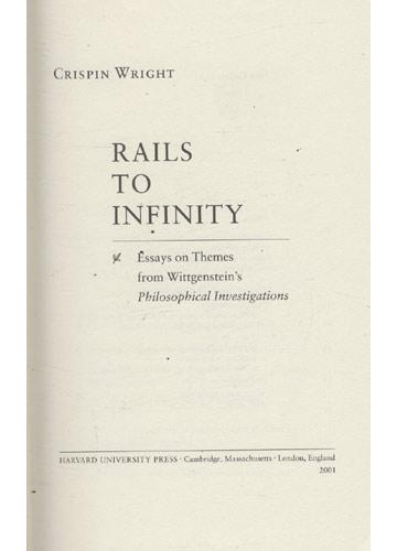 Rails to Infinity