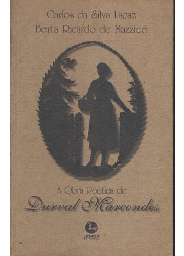 A Obra Poética de Durval Marcondes