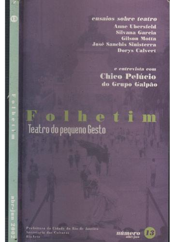Folhetim - Número 13 - Abril/Junho - 2002