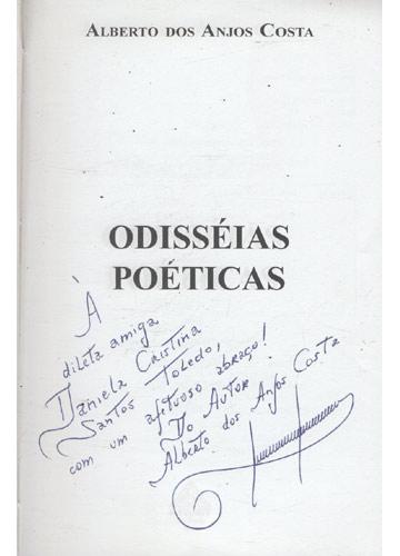 Odisséias Poéticas - Com dedicatória do autor