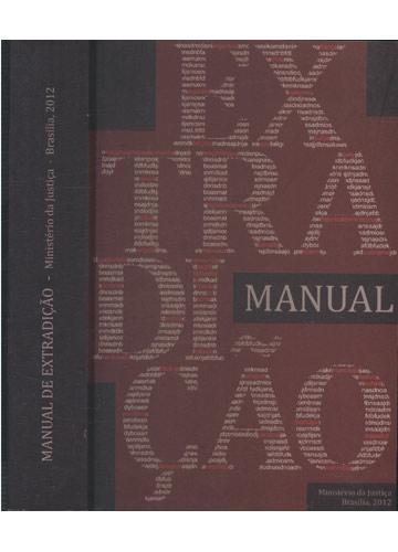 Manual de Extradição - Ministério da Justiça