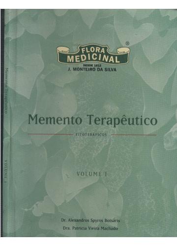 Memento Terapêutico - Fitoterápicos - Volume 1
