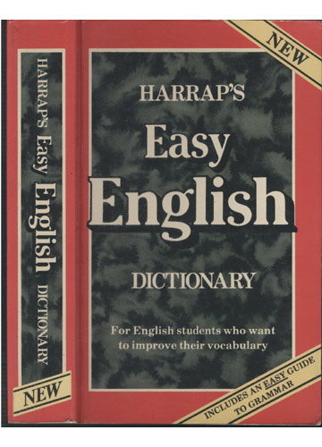 Harrap´s Easy English Dictionary