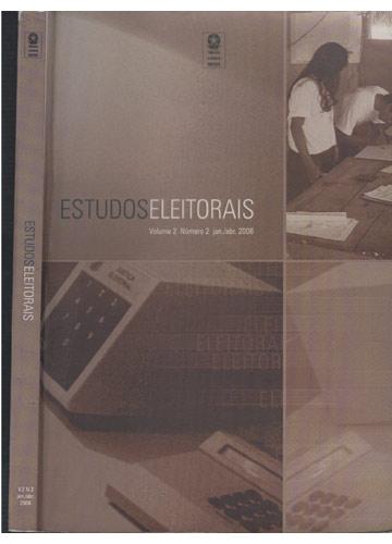 Estudos Eleitorais - Volume 2 - Nº2 - Janeiro/Abril - 2006