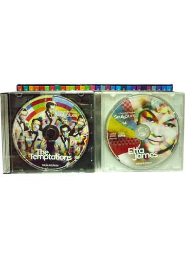 Coleção Folha Soul & Blues *BOX com 30 Livretos + CD's