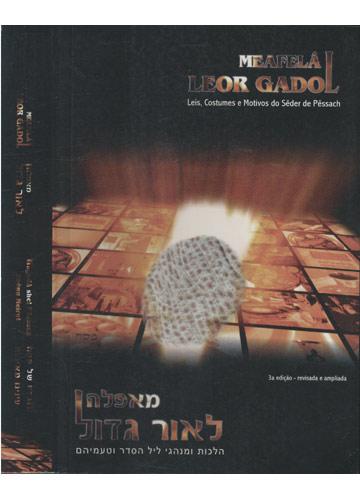 Meafelá Leor Gadol - Leis Costumes e Motivos do Sêder de Pêssach