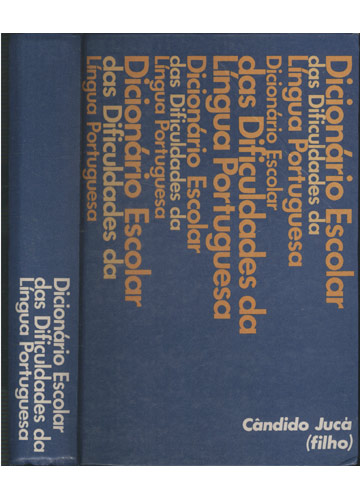 Dicionário Escolar das Dificuldades da Língua Portuguesa