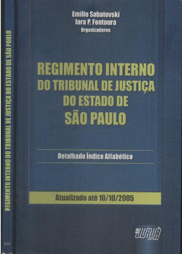 Regimento Interno do Tribunal de Justiça do Estado de São Paulo