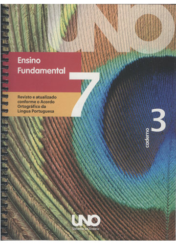 UNO - Ensino Fundamental Volume 7 - Caderno 3
