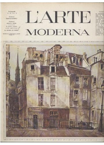 L'Arte Moderna - Volume X - N.º 85 - La Scuola di Parigi