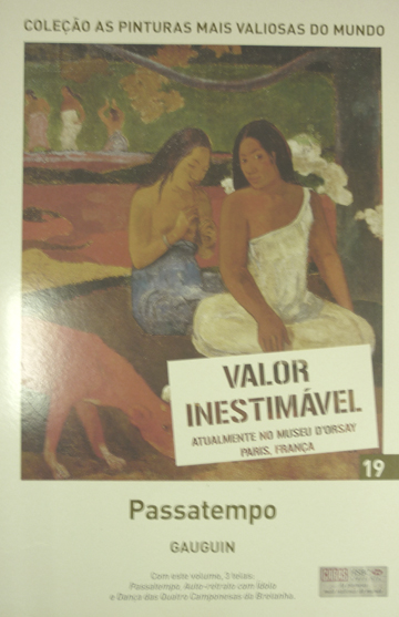 Gauguin - As Pinturas Mais Valiosas do Mundo - Volume 19