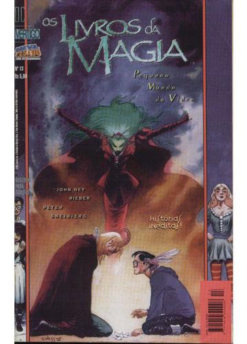 Os Livros da Magia - Nº.13 - Pequeno Mundo de Vidro