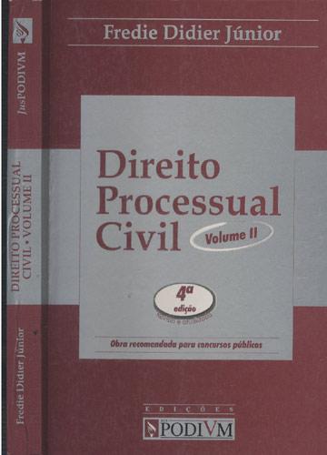 Direito Processual Civil - Volume II