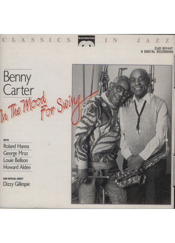 Benny Carter - In The Mood For Swing *importado*