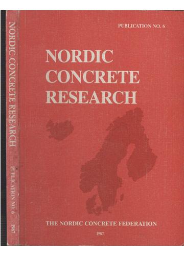 Nordic Concrete Research - Publication NO.6 - 1987