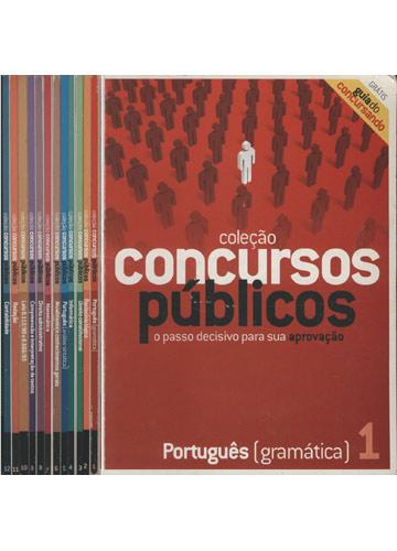 Coleção Concursos Públicos - 12 Volumes
