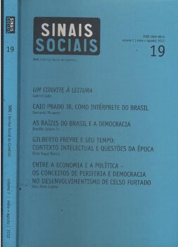 Sinais Sociais - Volume 7 - Nº 19 - Sesc - Serviço Social do Comércio - Maio-Agosto - 2012