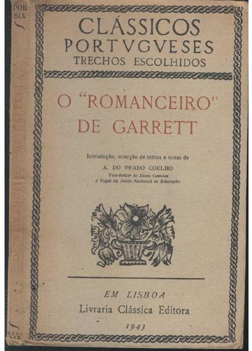 O Romanceiro de Garrett