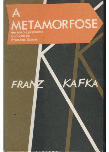 Livro - A Metamorfose - Sebo do Messias
