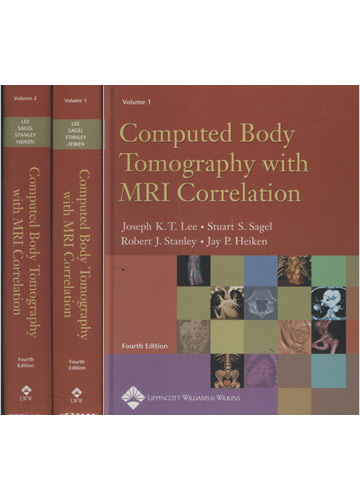 Computed Body Tomography with MRI Correlation - 2 Volumes