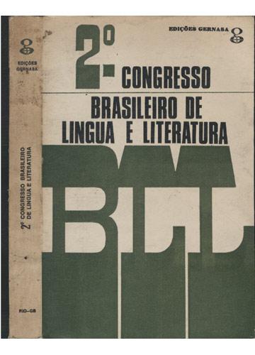 2º. Congresso Brasileiro de Lingua e Literatura