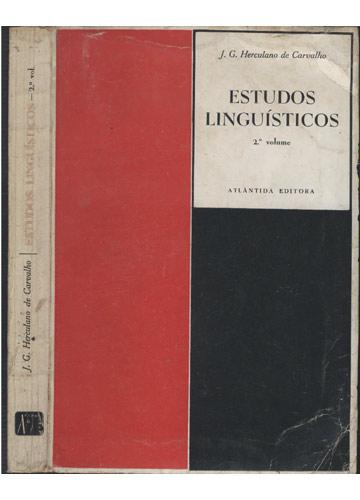 Estudos Linguísticos - Volume 2