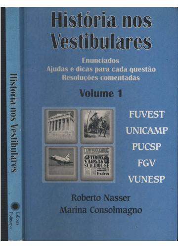 História nos Vestibulares - Volume 1