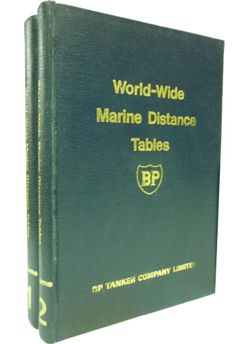 World-Wide Marine Distance Tables - 2 Volumes