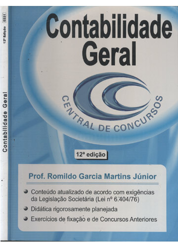 Contabilidade Geral - Central de Concursos