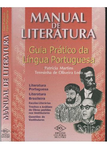 Manual da Literatura - Guia Prático da Língua Portuguesa
