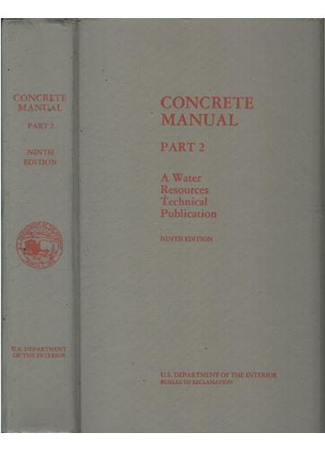 Concrete Manual - Part 2