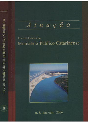Revista Jurídica do Ministério Público Catarinense - Nº.8