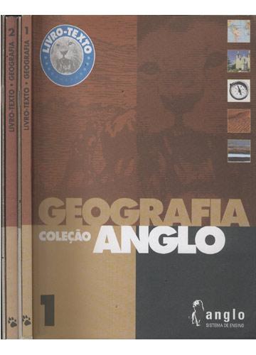 Livro-Texto - Geografia - 2 Volumes + 2 Cadernos de Exercícios - Coleção Anglos