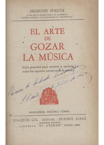 El Arte de Gozar la Música
