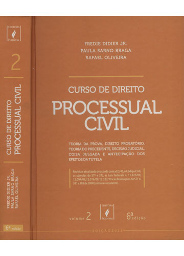Curso de Direito Processual Civil - Volume 2