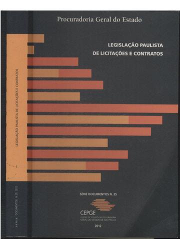 Legislação Paulista de Licitações e Contratos
