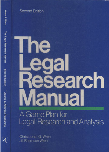 The Legal Research Manual