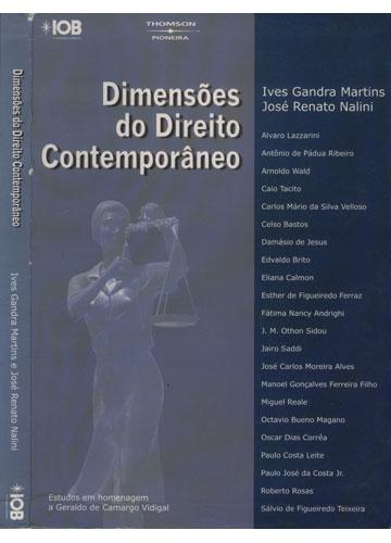 Dimensões do Direito Contemporâneo